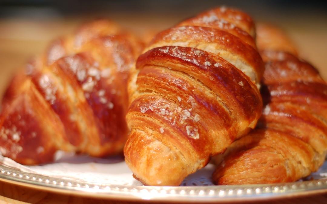 Croissant taste of Paris
