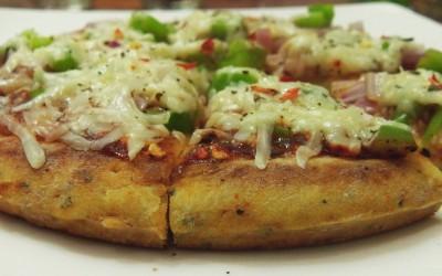 No yeast, no oven pizza