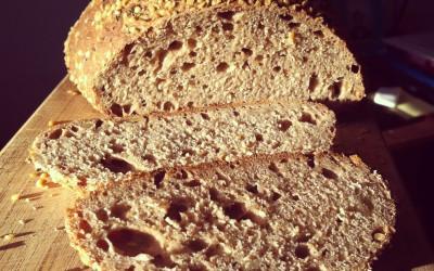 Three Seed Spelt Bread